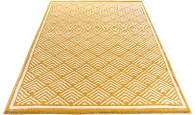 Teppich, »Cara«, Home affaire, rechteckig, Höhe 14 mm, maschinell gewebt kaufen