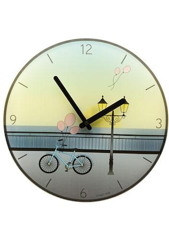 Goebel Wanduhr »Scandic Home, Bicycle, 23100491« kaufen