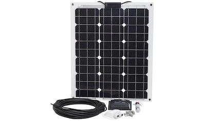 SUNSET Set: Solarstrom - Set für Boote, Yachten oder Caravan, 50 Watt kaufen