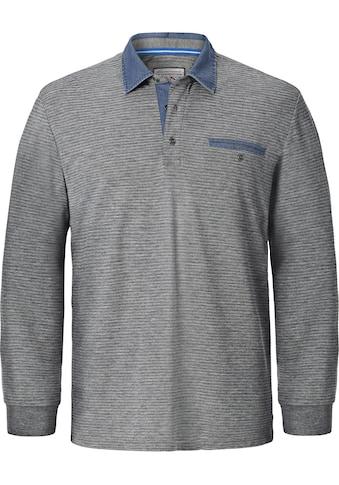 Jan Vanderstorm Langarm - Poloshirt »BERNWALD« kaufen