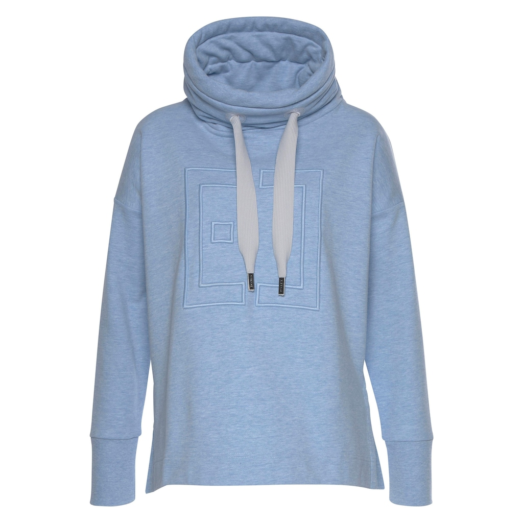 Elbsand Sweatshirt »Birte«, mit Logostickerei