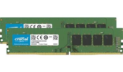 Crucial PC-Arbeitsspeicher »8GB Kit (4GBx2) DDR4 2666 MT/s (PC4-21300) CL19 SR x16... kaufen