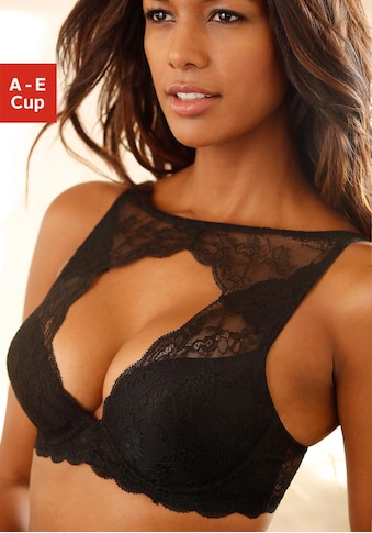LASCANA Push-up-BH, mit Bügel, mit extravaganter Cut-out Schnittform kaufen