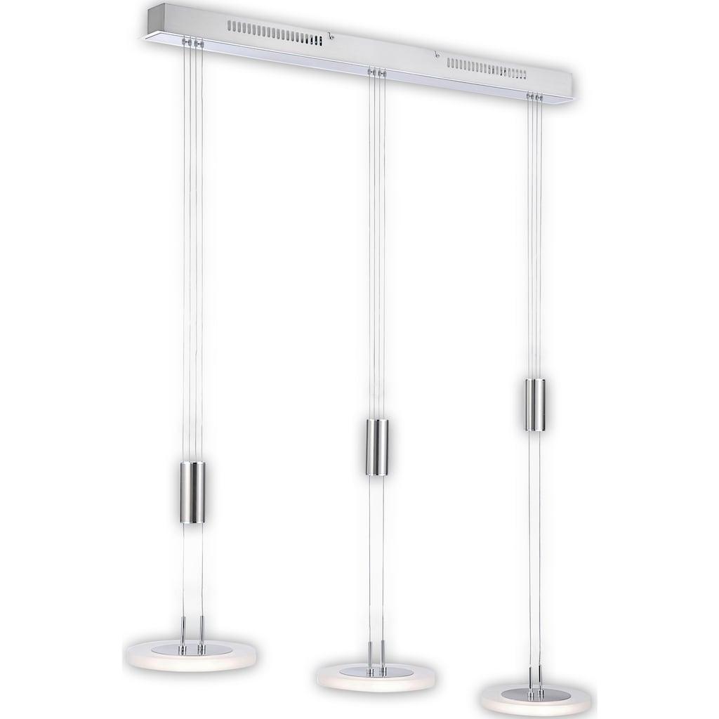 FISCHER & HONSEL LED Pendelleuchte »Diskus«, LED-Modul, Warmweiß