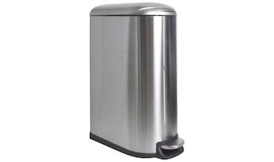 ADOB Mülleimer »Abfallbehälter«, 40 L aus gebürstetem Metall mit herausnehmbarem Inneneimer kaufen