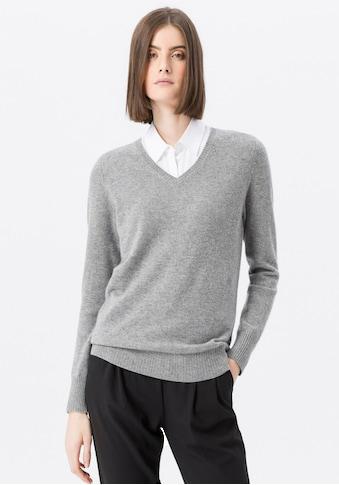 Peter Hahn V - Ausschnitt - Pullover »mit Kaschmir« kaufen