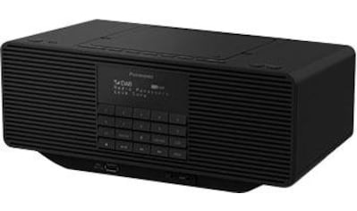 Panasonic Radio »RX-D70BTEG-K«, ( Digitalradio (DAB+)-FM-Tuner ), mit CD kaufen