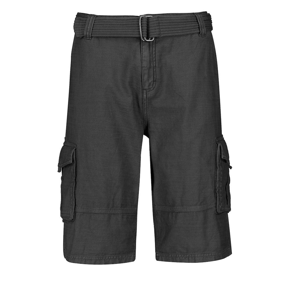 Eight2Nine Shorts, mit Gürtel