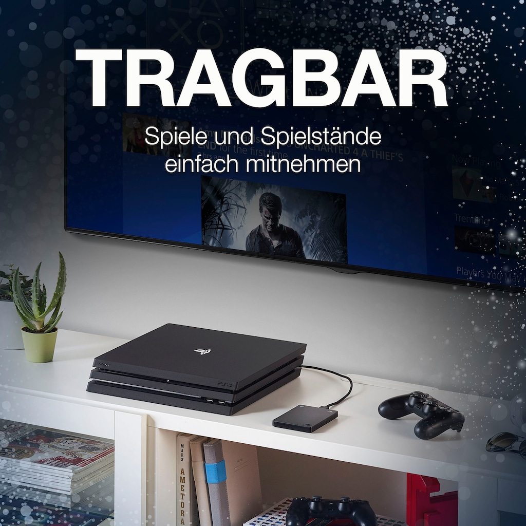 Seagate externe Gaming-Festplatte »Game Drive PS4 STGD2000200«