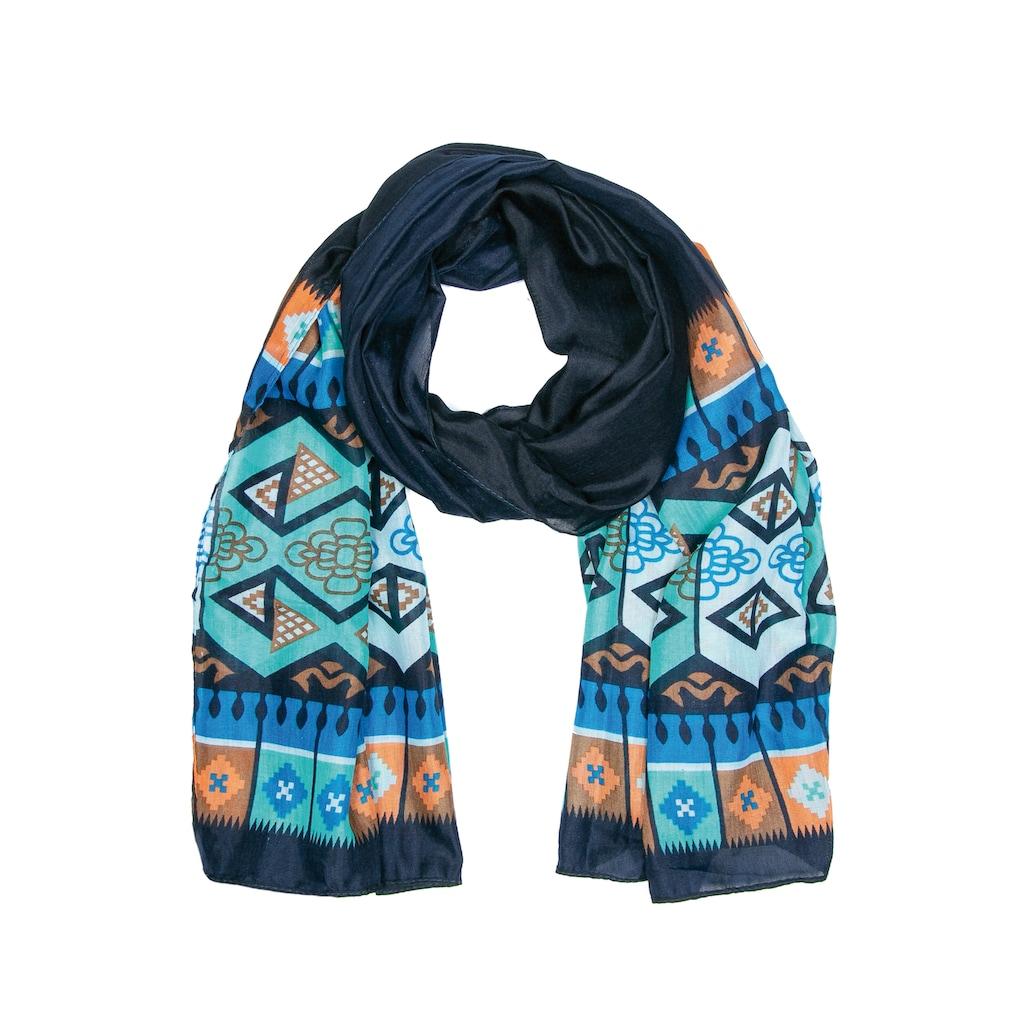 CASSANDRA Schal »Ethno«, mit symmetrischem Muster
