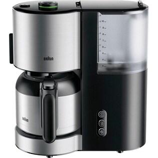 schwarz Severin Duo-Kaffeemaschine KA 5802 inkl Kaffeeautomat Teefilter
