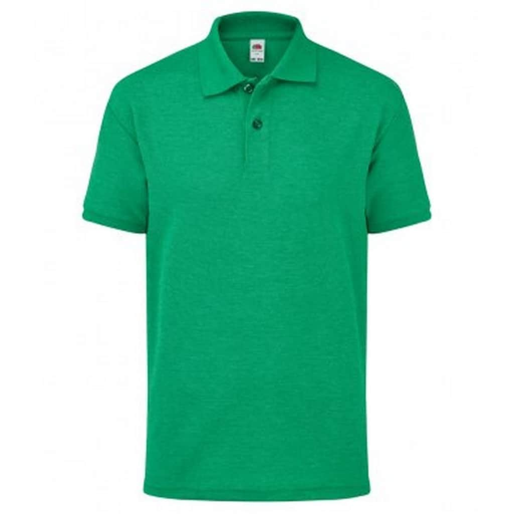 Fruit of the Loom Poloshirt »Kinder Poly/Baumwolle Pique Polo Shirt«