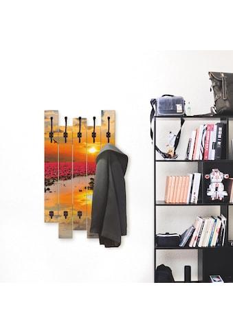 Artland Garderobenpaneel »Sonnenschein blühende Lotusblume«, platzsparende... kaufen