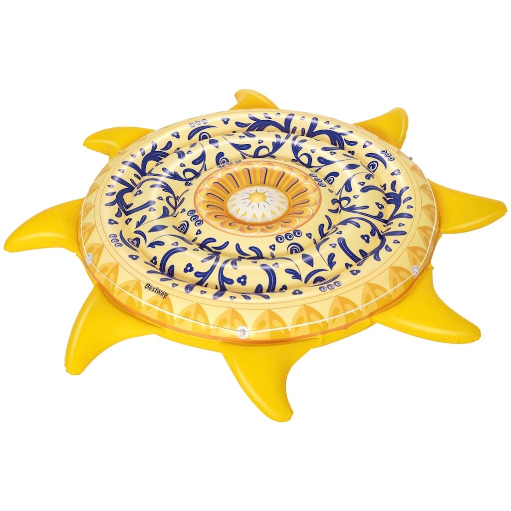 Bestway Luftmatratze »Mediterane Sonne«, 207 cm Durchmesser