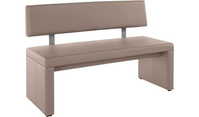 Sitzbank »Charissa«, Breite 140 cm mit Bezug in Kunstleder kaufen