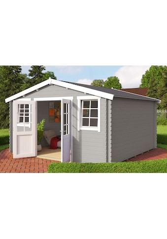 OUTDOOR LIFE PRODUCTS Gartenhaus »Mosel 4«, BxT: 410x410 cm, inkl. Fußboden kaufen