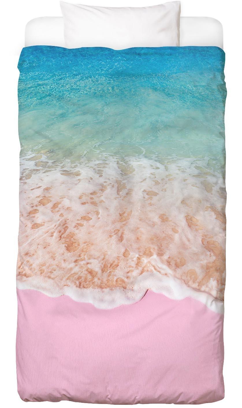 Bettwäsche Pink Sand Juniqe