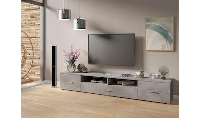 TRENDMANUFAKTUR Lowboard, Breite 210 cm kaufen