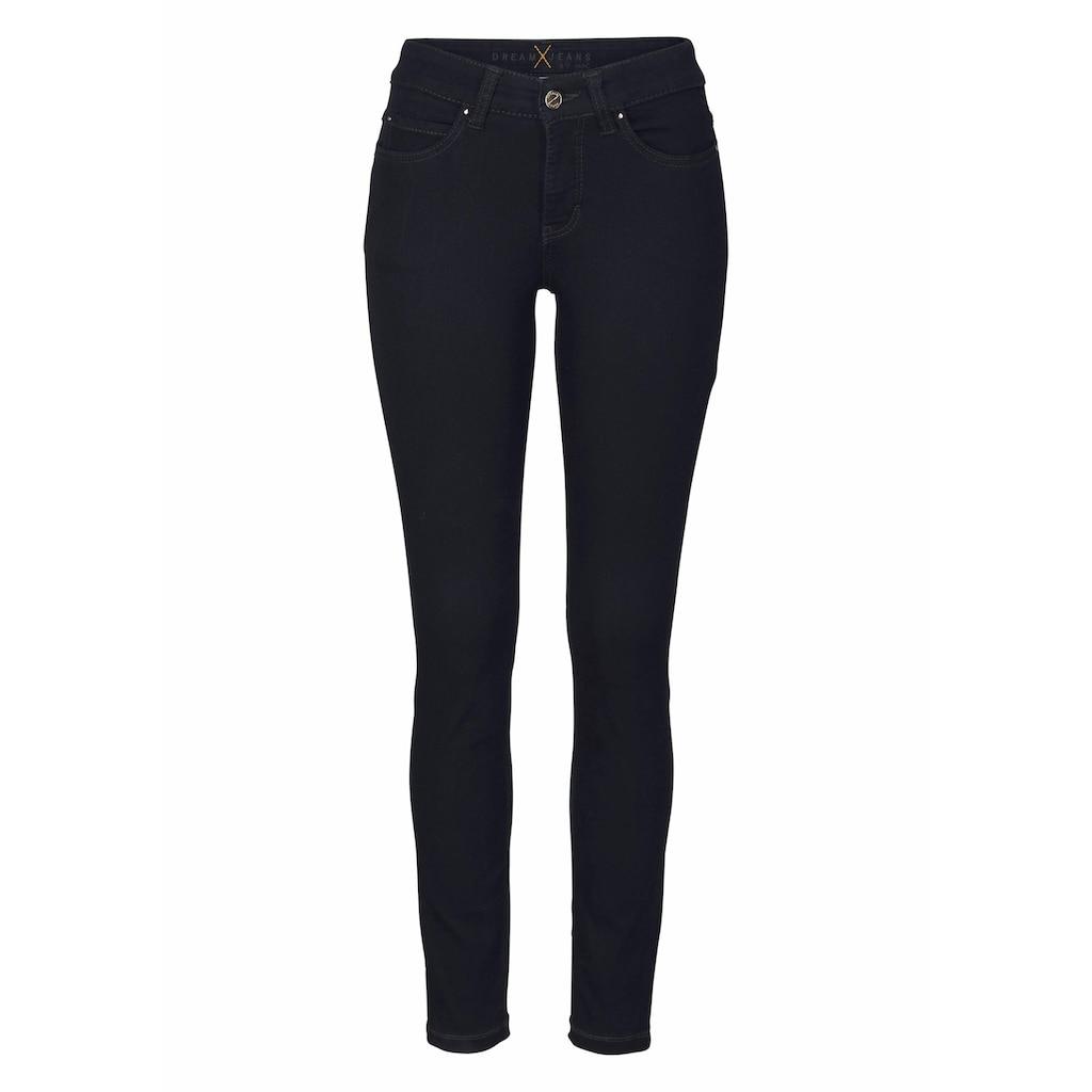 MAC Skinny-fit-Jeans »Dream Skinny«, Hochelastische Qualität sorgt für den perfekten Sitz