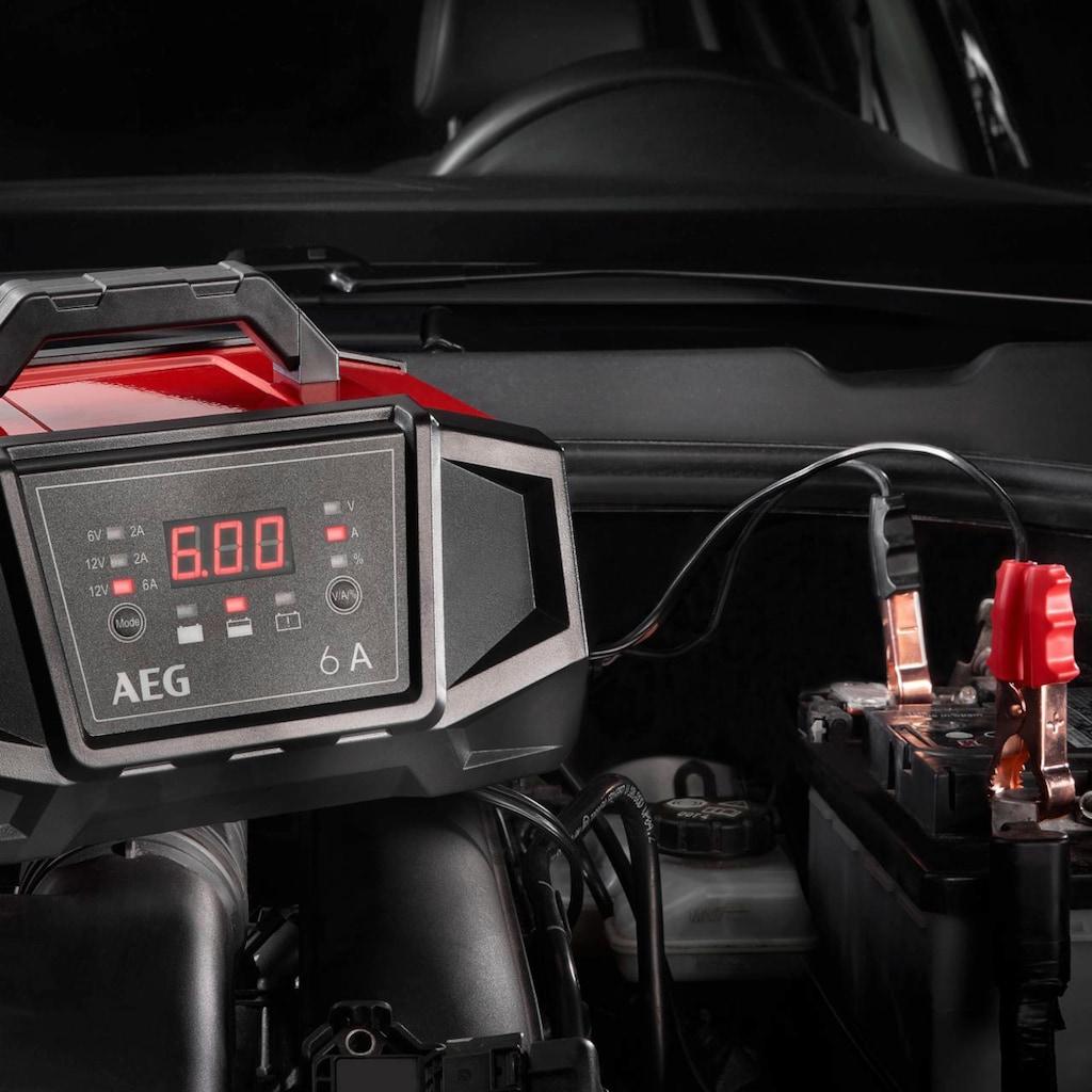 AEG Batterie-Ladegerät »WM6«, 6000 mA