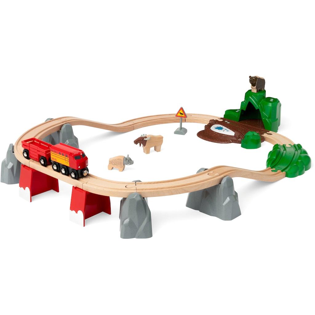 BRIO® Spielzeug-Eisenbahn »Nordische Waldtiere«, FSC® - schützt Wald - weltweit