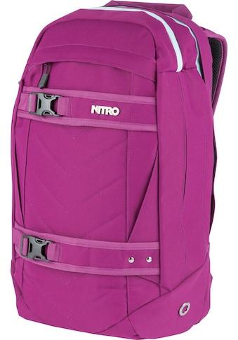 NITRO Laptoprucksack »Aerial Grateful Pink« kaufen