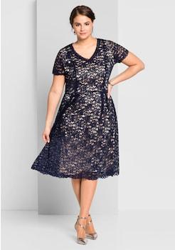 Kleider in großen Größen online kaufen   Kleider für Mollige   BAUR 716700adb7