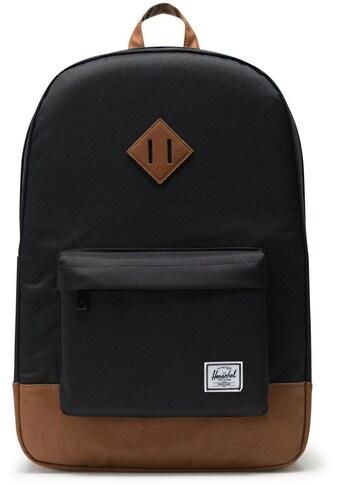 Herschel Laptoprucksack »Heritage, Black« kaufen