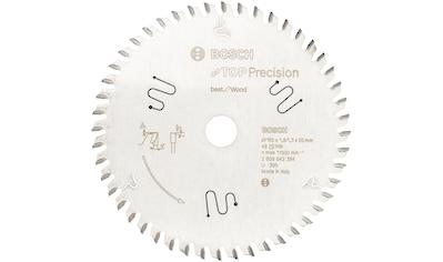 Bosch Professional Kreissägeblatt »Top Precision Best for Wood«, 165 x 20 x 1,8 mm, 48 kaufen