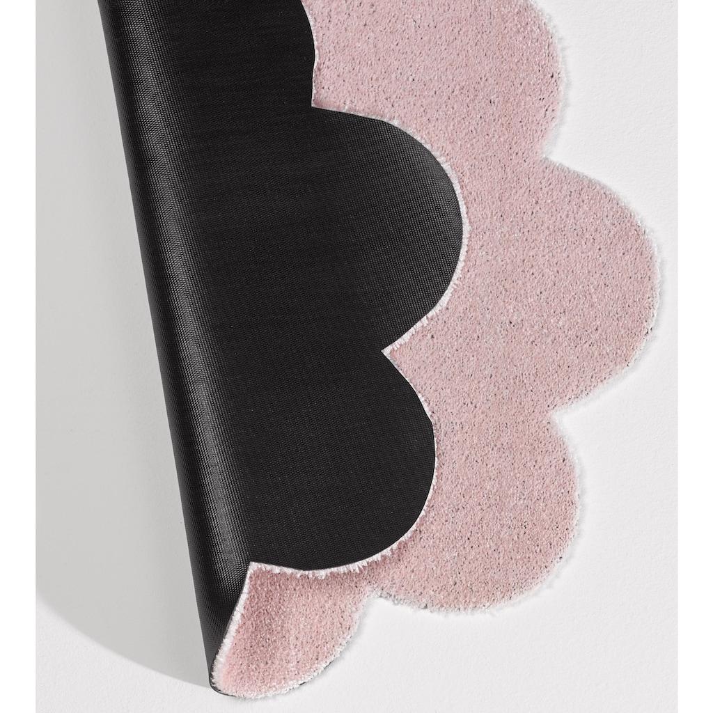 HANSE Home Fußmatte »Deko Soft«, blumenförmig, 7 mm Höhe, Fussabstreifer, Fussabtreter, Schmutzfangläufer, Schmutzfangmatte, Schmutzfangteppich, Schmutzmatte, Türmatte, Türvorleger, saugfähig, waschbar