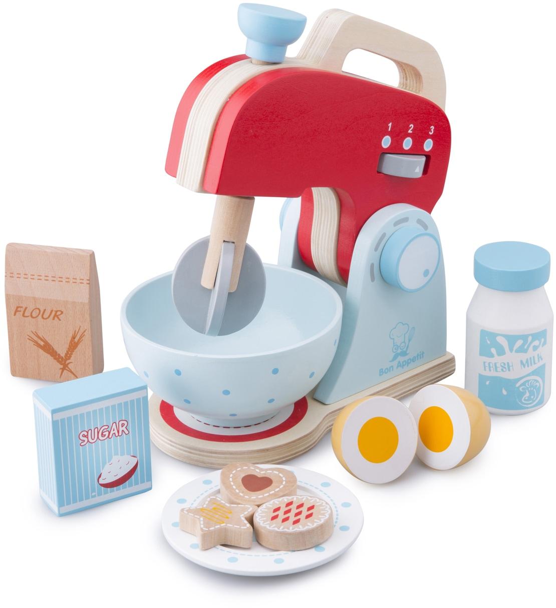 New Classic Toys Kinder-Rührgerät Spielzeug-Mixer bunt Kinder Kinder-Haushaltsgeräte Zubehör Kaufladen Kinderküchen Spielzeug-Haushaltsgeräte