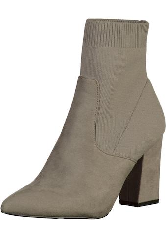 STEVE MADDEN High-Heel-Stiefelette »Textil« kaufen