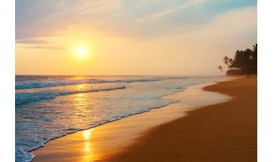 PAPERMOON Fototapete »Sri Lanka Beach Sunset«, Vlies, in verschiedenen Größen kaufen