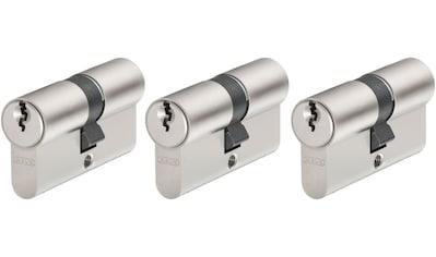 ABUS Set: Profilzylinder »E20NP«, Tür - Doppelzylinder mit Profilschlüssel, 3er - Set kaufen