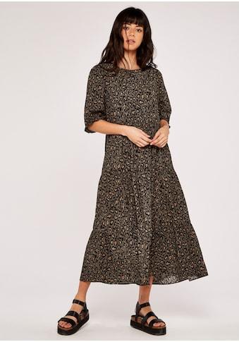 Apricot Midikleid »Graphic Animal Tiered Midi Dress«, mit animal-print kaufen