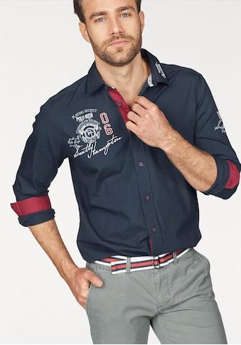 TOM TAILOR Polo Team Langarmhemd kaufen