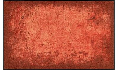 Teppich, »Shades of Grey«, wash+dry by Kleen - Tex, rechteckig, Höhe 7 mm, gedruckt kaufen
