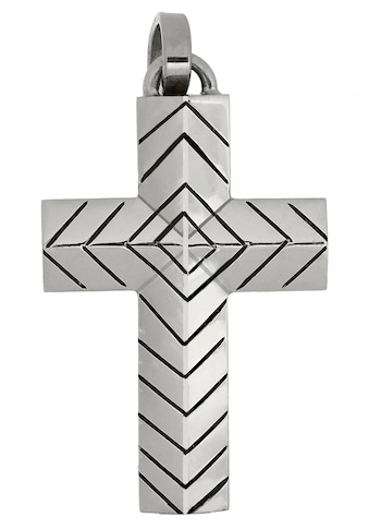 Firetti Kettenanhänger »Kreuz, stilvoll, zeitlos, massiv, glänzend«, Made in Germany kaufen