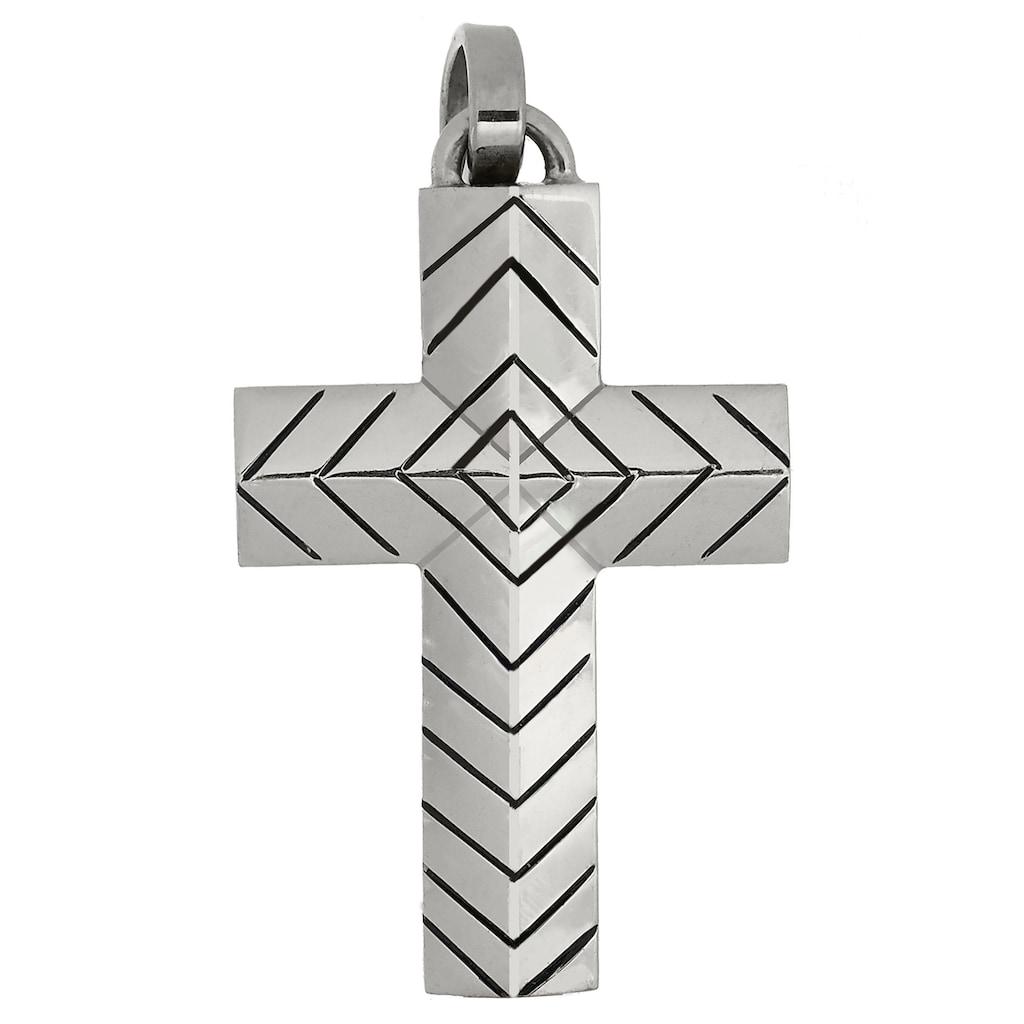 Firetti Kettenanhänger »Kreuz, stilvoll, zeitlos, massiv, glänzend«, Made in Germany
