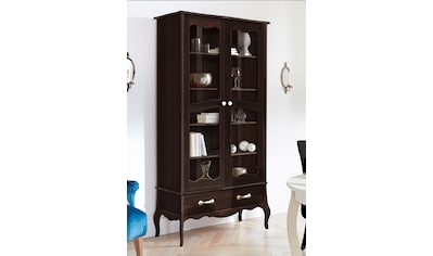 Home affaire Vitrine »Lebo«, aus massiver Kiefer, Breite: 108 cm kaufen