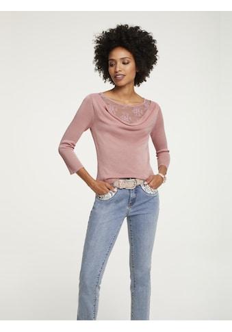Pullover mit Spitze kaufen