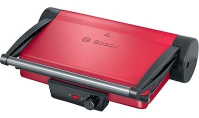 BOSCH Kontaktgrill TCG4104 rot, 2000 Watt kaufen
