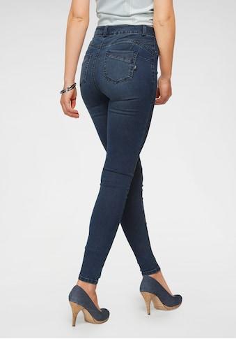 Arizona Skinny-fit-Jeans »Ultra Stretch«, High Waist mit Shapingnähten kaufen