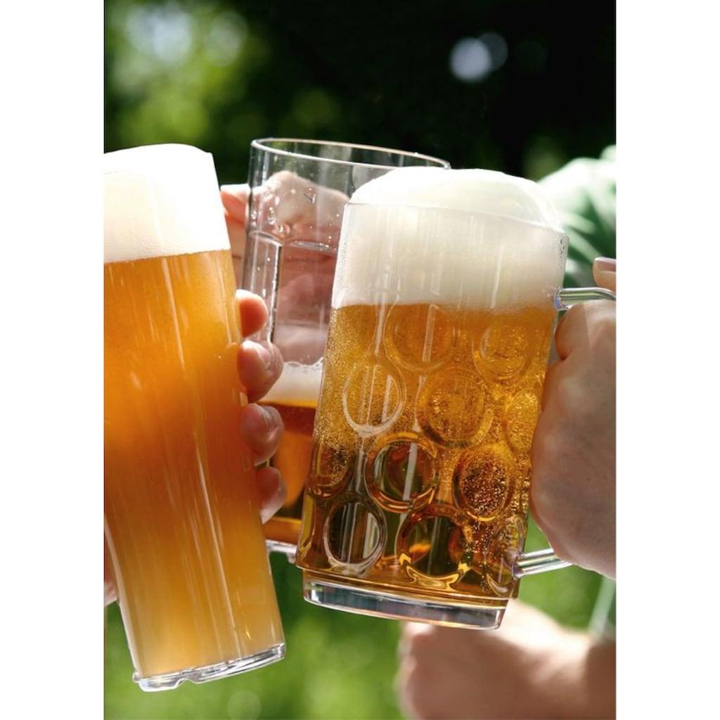 WACA Bierkrug, (Set, 4 tlg., 4), 0,5 Liter, 4-teilig