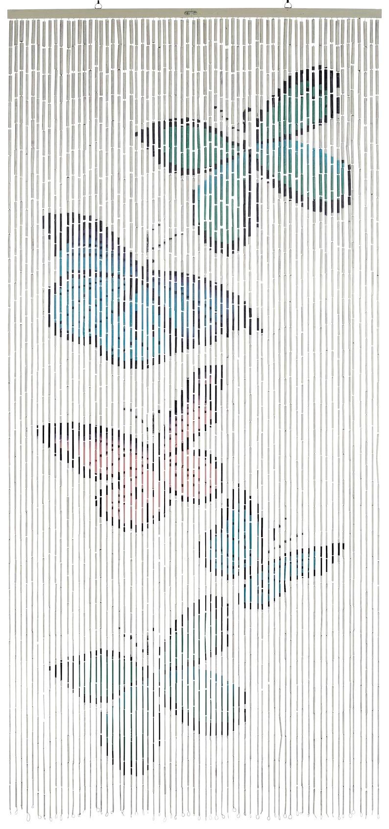WENKO Türvorhang, BxH: 90x200 cm weiß Türvorhang Türvorhänge Weitere Gardinen Vorhänge