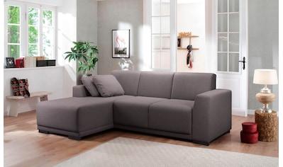 my home Ecksofa »Kilian«, aus Kunststoff Füßen kaufen