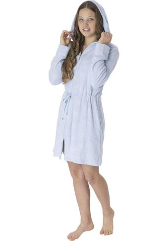 Wewo fashion Damenbademantel »6025«, (1 St.), mit Tunnelzug zum Binden kaufen