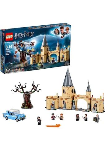 """LEGO® Konstruktionsspielsteine """"Die Peitschende Weide von Hogwarts™ (75953), LEGO® Harry Potter"""", Kunststoff, (753 - tlg.) kaufen"""