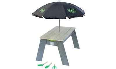 EXIT Kindersitzgruppe »Spieltisch Aksent L DELUXE«, BxL: 94x69 cm, inkl. Sonnenschirm... kaufen