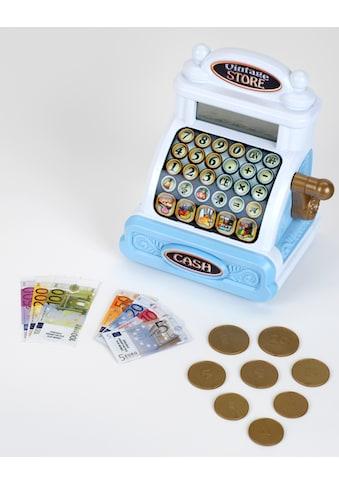 Klein Spielkasse »Elektronische Vintagekasse«, inkl. Spielgeld und Sound kaufen